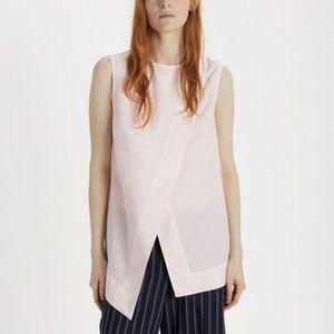 Acne Studios Berle Soft Pop pink sleeveless top
